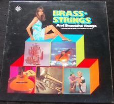 CHEESECAKE LP BRASS, STRINGS AND BEAUTIFUL THINGS LP Telefunken Sampler