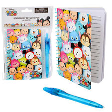 x6 TSUM TSUM DISNEY NOTEBOOKS MEMO PAD W/ PEN GIFT SET GIRLS DIARY PARTY FAVOR