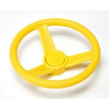 Playground Steering Wheel YELLOW Cubby House Accessories Equipment Cubbies NEW