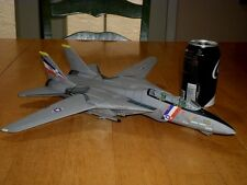 "USA, F-14 TOMCAT FIGHTER PLANE (USS CONSTELLATION) DIECAST METAL TOY -16"" LENGTH"