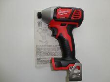 "Milwaukee M18 18V 18 Volt Li-Ion 1/4"" Impact Driver Tool Only Model 2656-20"
