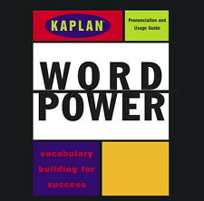 New 2 CD Kaplan Word Power Vocacabulary for Success (SAT GRE College Prep)