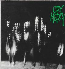 CRY MERCY - S/T (*USED-CD, 1995, Rowe Prod) Rare Import Christian Metal