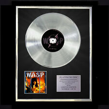 WASP INSIDE THE ELECTRIC CIRCUS  CD PLATINUM DISC FREE P+P!!
