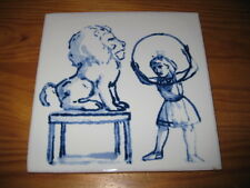 PORTUGAL PORTUGUESE PAULA REGO 1990s EDTI. CIRCUS CERAMIC TILE CARREAU FLIESE