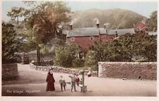 Village Heysham Nr Morecambe old pc used 1918 Jay Em Jay