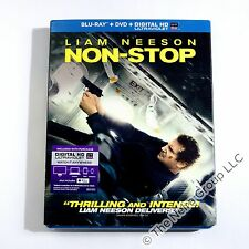 Non-Stop Blu-ray/DVD/HD (Ultraviolet) New Liam Neeson, Julianne Moore 2-Disc Set