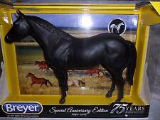 Breyer * RARE AQHA 75th Anniversary * 1730 BLACK Quarter Horse Traditional Model