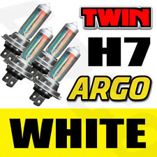 4-PIECE H7 8500K XENON GAS HALOGEN HEADLIGHT WHITE LIGHT LAMP BULBS 55W 12V