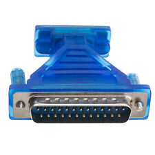 AD-9F25M DB9 9-Pin Female to DB25 Male 25-Pin Serial Adapter with Thumbscrews