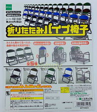 Capsule Toy Japan School Assembly Chairs Complete 5pcs - Epoch    - h#1
