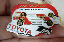 PIN'S COURSE USA F1 IRL INDY CAR SERIES TOYOTA MOTOR SPORT NAZARETH 2003 EGF MFS