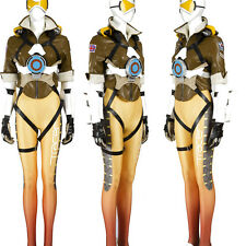 Original Tracer Lena Oxton Cosplay Costume Cos Accessories Full Suit Custom Made