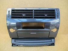 Citroen C4 Centre Dash Airvents Storage Pocket Carbon Fibre LOOK 2004-2010