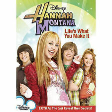 Hannah Montana: Life's What You Make It (DVD, 2007) WORLD SHIP AVAIL!