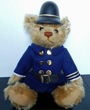 Steiff Police Bobby Bear Gold Mohair EAN 666155 2000 Ltd Edition of 1,500