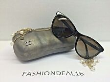 New Authentic Chanel Women's Tortoise/Pearls Polarized 5341 C.714/S9 Sunglasses