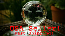 110mm Rare Natural Quartz Clear Magic Crystal Healing Ball Sphere Display Stand