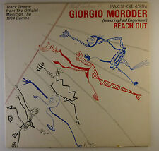"12"" Maxi - Giorgio Moroder - Reach Out - L5505c - washed & cleaned"