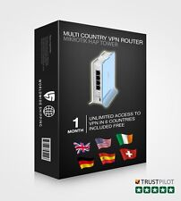 Pre Configured VPN Router - High Speed, Secure, Compatible With All Devices