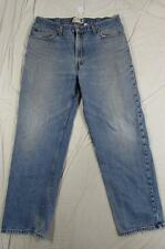 Levi 550 Relaxed Fit Faded Denim Jeans Tag Size 38x32 Measure 38x31