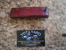 85-89 TOYOTA  MR2 Left Rear Side Marker Light AS IS YOTA YARD