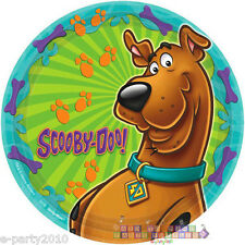 SCOOBY-DOO WHERE ARE YOU! LARGE PAPER PLATES (8) ~ Birthday Party Supplies Lunch
