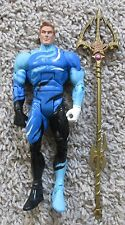 "AQUAMAN DC UNIVERSE BLUE SUIT CLASSICS DIRECT RARE 6"" INCH SHORT HAIR"