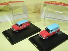 FORD ANGLIA & AUSTIN MINI VAN CIRQUE CHIPPERFIELDS OXFORD CH011 CH010 1:76