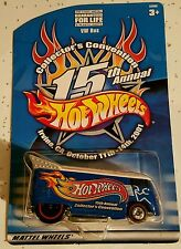 HOT WHEELS 15TH ANNUAL COLLECTOR'S CONVENTION VW DRAG BUS 1 OF 6000