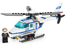 Lego City Police Set 7741 Police Helicopter 2008 100% Complete Bricks