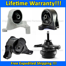 0164 Motor & Trans Mount set for 2002-2004 Honda Civic/ Acura EL, 1.7L w/ MANUAL