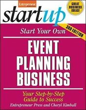 Start Your Own Event Planning Business: Your Step-By-Step Guide to Success Star