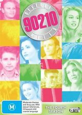 BEVERLY HILLS 90210 THE FOURTH SEASON FOUR 4 DVD 8 DISC BOX SET PAL AS NEW  Z1