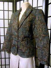 Sparkly Blazer Jacket by HARVE' BERNARD PETITE -  Size 10P