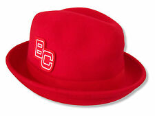 """WWE WRESTLING """"BC"""" BRODUS CLAY RED FEDORA HAT NEW OFFICIAL ADULT"""