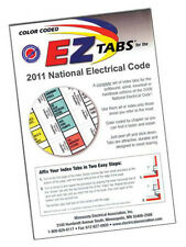 2011 Color Coded EZ Tabs NEC Code Book NFPA National Electrical Code FREE SHIP!