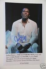 Josha Henry (the scottsboro Boys) 20x30cm image + autographe/Autograph en personne
