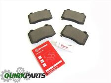 12-17 JEEP GRAND CHEROKEE SRT SRT8 BREMBO REAR BRAKE PADS SET OF 4 OEM NEW MOPAR