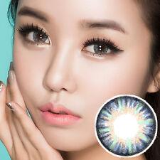 Lentilles de Contact Bleu Color Contact Circle Lenses DIA14.5mm VaBl