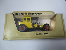 Voiture miniature / Rolls Royce 1912 (matchbox Y-7 1978 models of yesterday)