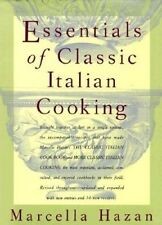 NEW Essentials of Classic Italian Cooking Marcella Hazan Hardcover FREE SHIPPING