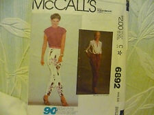 Vintage mccall's pour femme taille s sewing pattern nº 6892