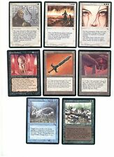 Orig. THE DARK Uncommon Set 8 Karten - Partial Set Lot Sammlung 1994 MtG Magic