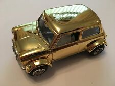 Scalextric - C7 - Mini Cooper - Gold Plated - VG Condition - one off