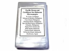 Holocene Pacific Ocean foraminifera ostracod microfossil Collection 14 samples