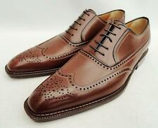 a.testoni Brown Leather Brogues Shoes UK10 EU44 US11