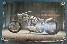 OEM YAMAHA DEALER SHOWROOM POSTER ROAD STAR SILVERADO V STAR WARRIOR