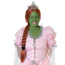 PRINCESS FIONA SHREK WIG FANCY DRESS