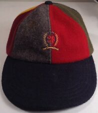 Tommy Hilfiger Crest Logo Cap Hat 80% Wool One Size USA